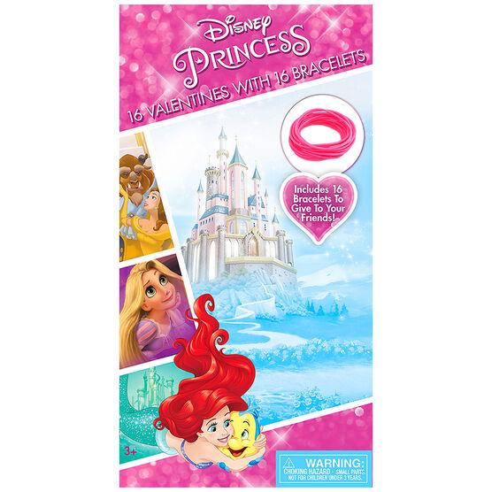 Disney Princess Valentines with Bracelets - 16s - 4342985