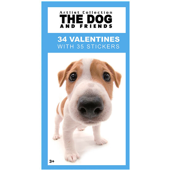 The Dog Valentines with Stickers - 34s - 4153055