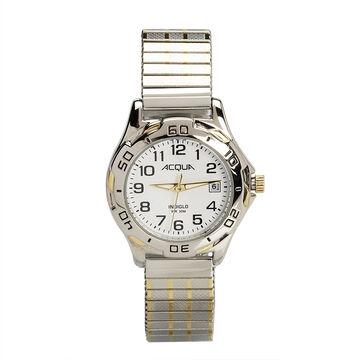 Timex Acqua Women's Quartz Analogue Watch - White/Silver - 3C446