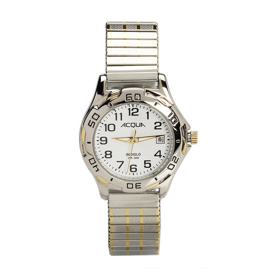 Timex Acqua Women's Quartz Analogue Watch - White/Silver - 3C446