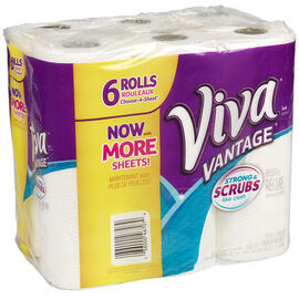 Viva Vantage Choose-A-Sheet Paper Towels - 6's