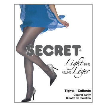 Secret Light Control Top Tights - C - Lilac