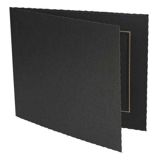 Photo Charcoal 8x6-H Folder - 8x6-H