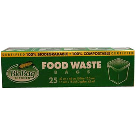 BioBag Kitchen Food Waste Bags - 25's