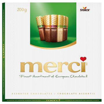 Merci Almond Chocolate - Assorted - 200g