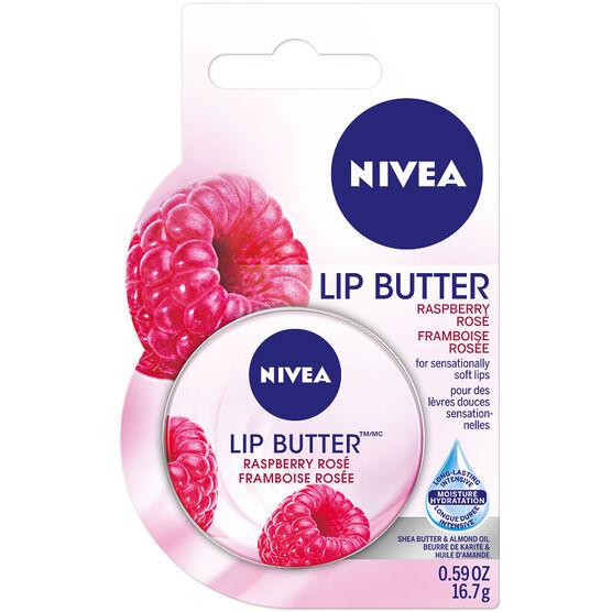 Nivea Lip Butter - Raspberry Rose - 16.7g