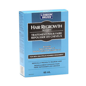 London Drugs Hair Re-growth Treatment for Men - 60ml