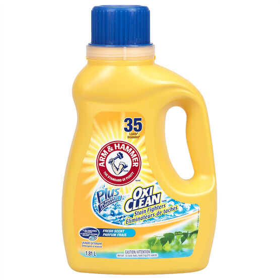 Arm & Hammer OxiClean Plus Laundry Detergent - Fresh Scent - 1.84L