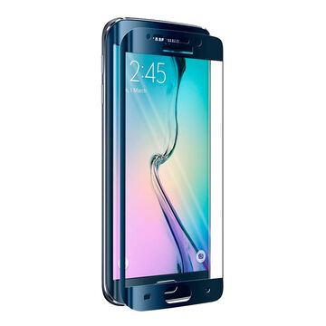 iShieldz Curved Glass Screen Protector for Samsung Galaxy S6 Edge - IS3GS6E
