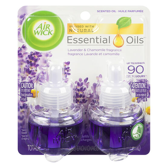 Air Wick Scented Oil Refill - Lavender and Chamomile - 2 x 21ml