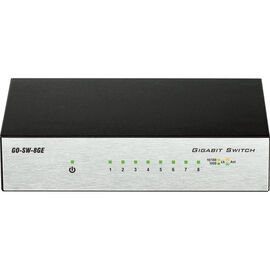 D-Link GO-SW-8GE 8-Port Gigabit Metal Desktop Switch