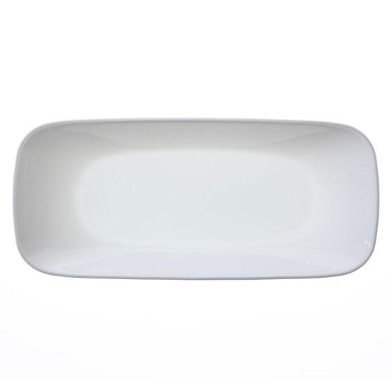 Corelle Square Pure White Appetizer Plate - 10.5inch