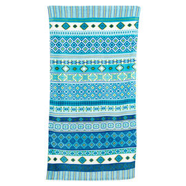 Aquatic Theme Beach Towel