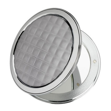 London Premiere Compact Mirror - Black