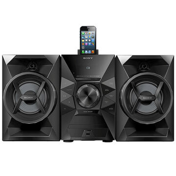 Sony Mini Speaker System - Black - MHCEC619IP
