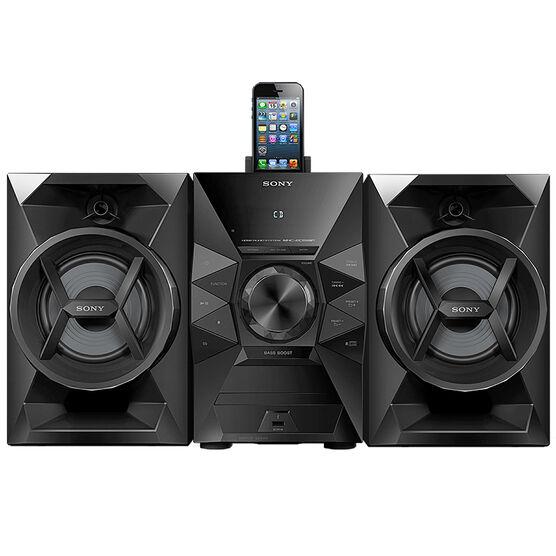 Sony Mini Speaker System - Black - MHCEC619IP