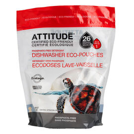 Attitude Dishwasher Eco-Pouches - 26's