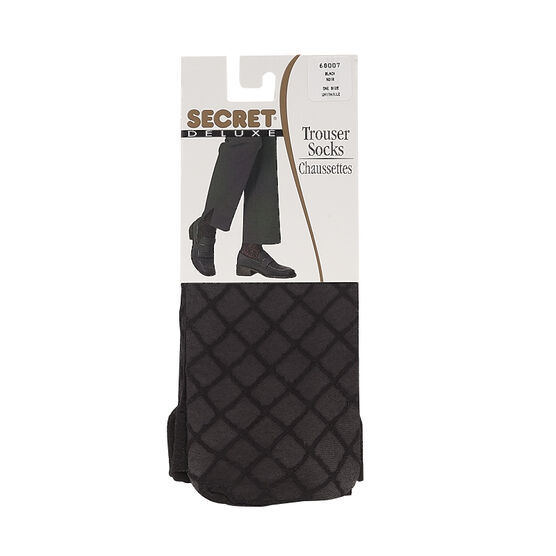Secret Deluxe Trouser Sock - Black