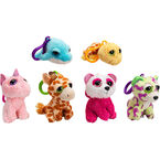 Russ Yomiko L'il Peepers Clip On Plush - Assorted