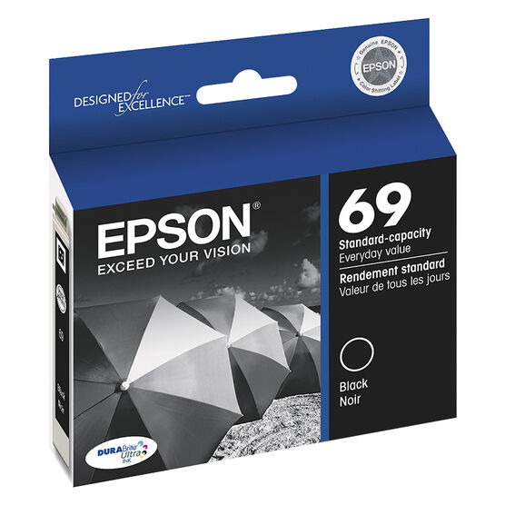 Epson Durabrite Ultra Ink Cartridge - Black - T069120