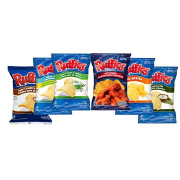 Ruffles Potato Chips - 235g - Assorted Flavours