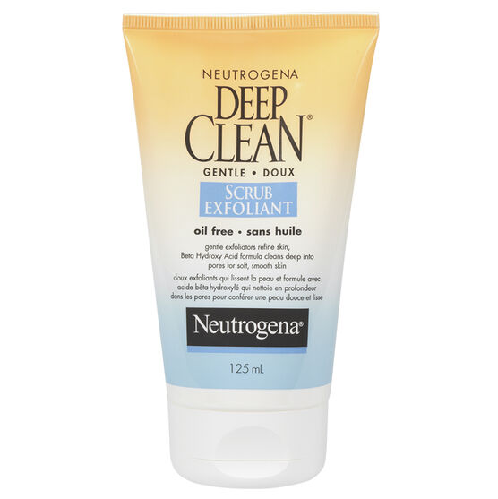 Neutrogena Deep Clean Gentle Scrub - 125ml