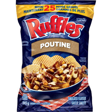 Ruffles Potato Chips - Poutine - 245g