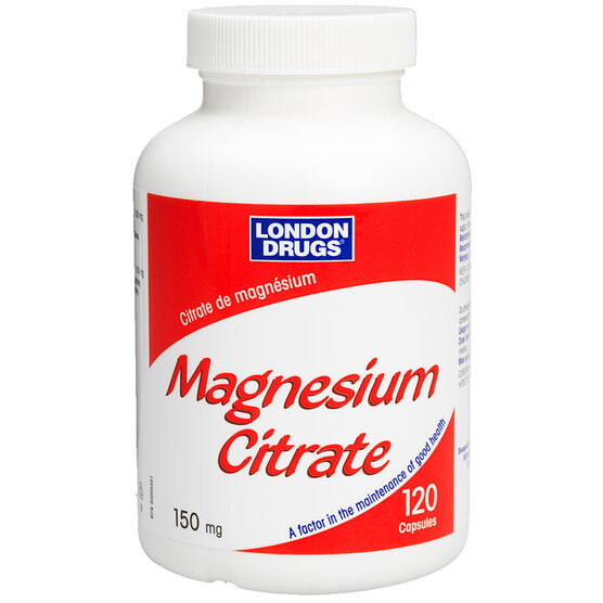 London Drugs Magnesium Citrate 150mg - 120's