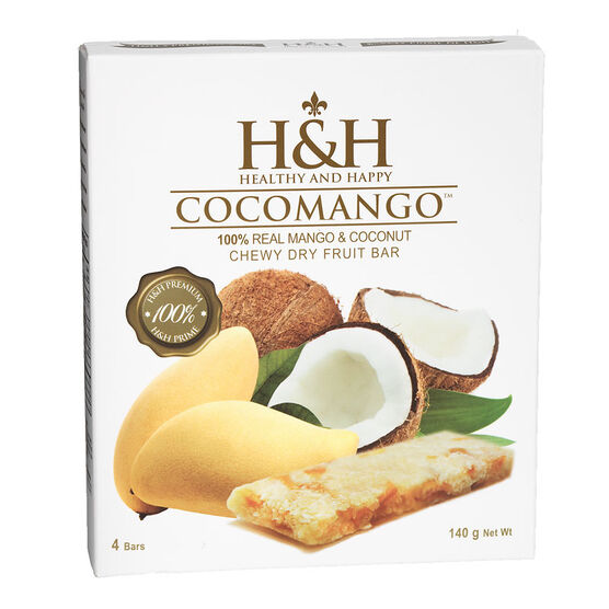 H&H Chewy Dry Fruit Bar - Cocomango - 4's