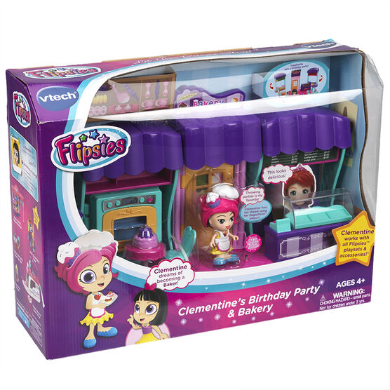 VTech Flipsie - Clementine's Birthday Party & Bakery
