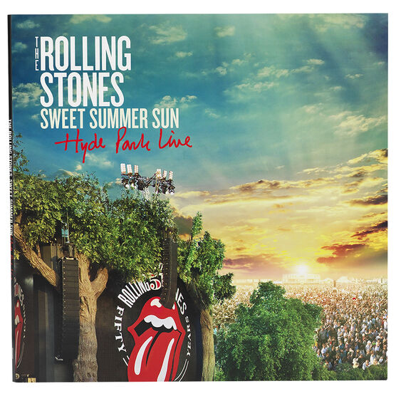 Rolling Stones, The - Sweet Summer Sun: Hyde Park Live - Vinyl