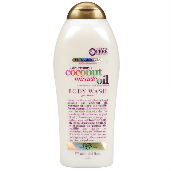 OGX Body Wash - Coconut Miracle Oil - 577ml