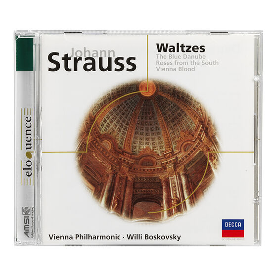 Willi Boskovsky - Johann Strauss: Waltzes - CD