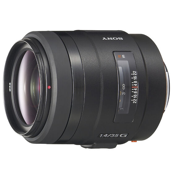 Sony 35mm f/1.4 Wide Angle G Lens - SAL35F14G