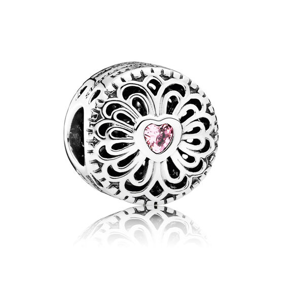 PANDORA Love & Friendship CZ Charm