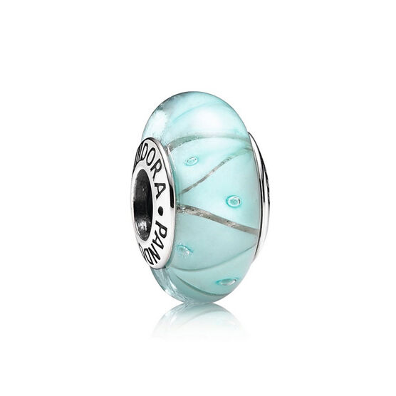 PANDORA Blue Looking Glass Charm