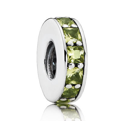 PANDORA Olive-Green Eternity Spacer