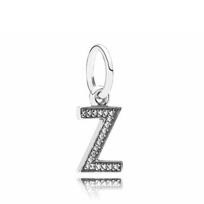PANDORA CZ Dangle 'Z' Charm