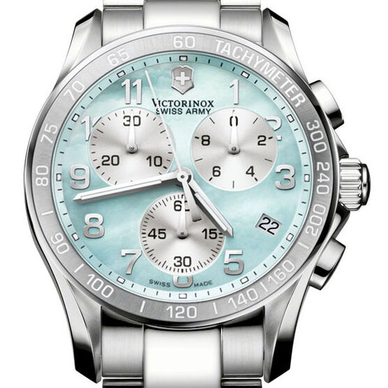 Victorinox Swiss Army Chrono Classic Mother-of-Pearl Watch 249053