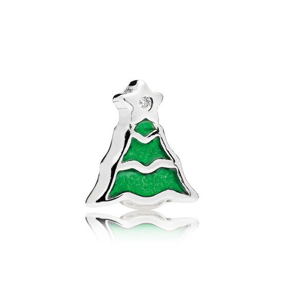 PANDORA Christmas Tree Enamel Petite Charm