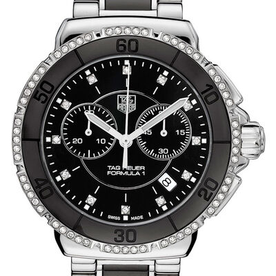 TAG Heuer Formula 1 Chronograph with Diamonds, 41mm