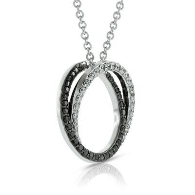 April birthday ideas diamond birthstone ben bridge jeweler black white diamond pendant 14k black white diamond pendant 14k aloadofball Choice Image