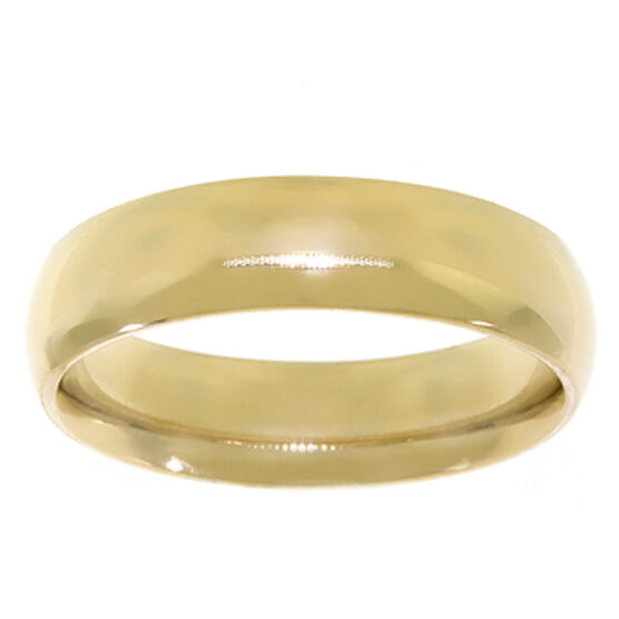 6mm Comfort Fit Band 14K, Size 11