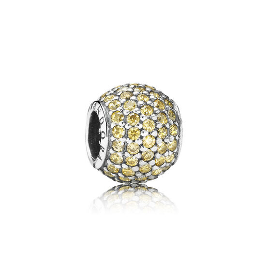 PANDORA Golden Pavé Lights Charm