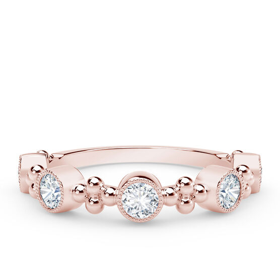 The Forevermark Tribute™ Collection Delicate Diamond Ring, 18K Rose Gold