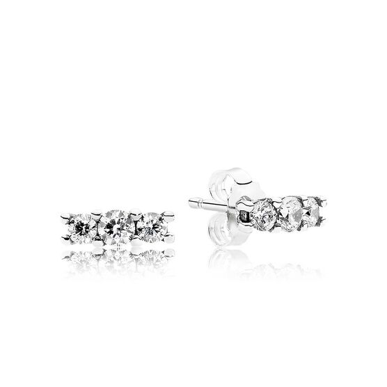 Pandora Sparkling Elegance CZ Earrings