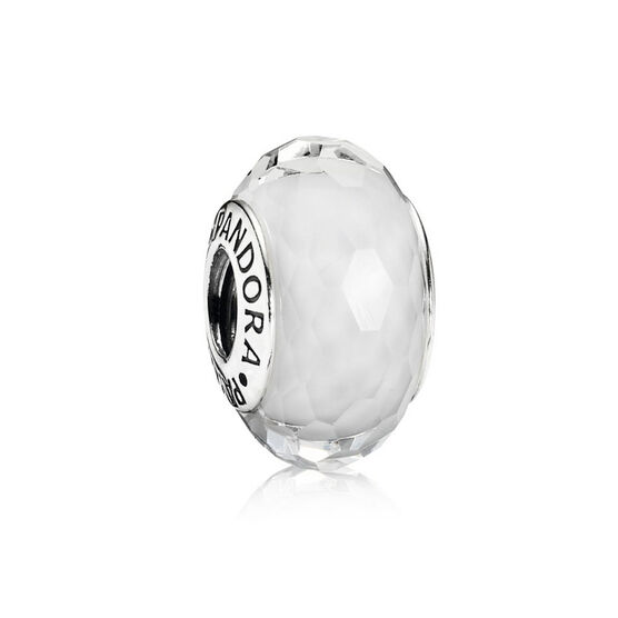 PANDORA White Fascinating Charm