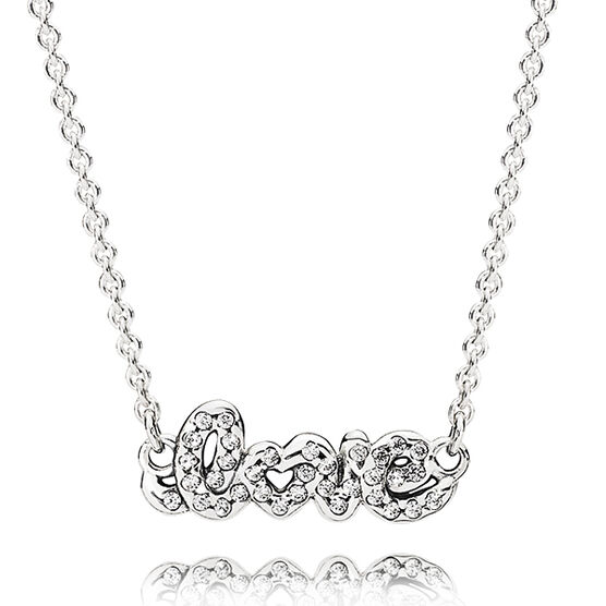 PANDORA Signature of Love Necklace