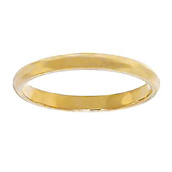 2mm Band 14K, Size 5