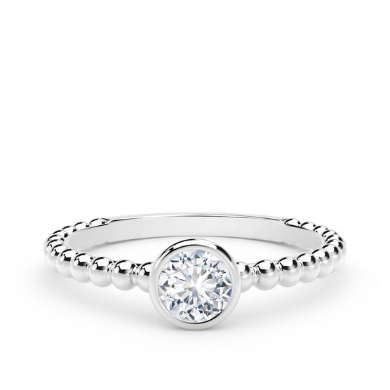 The Forevermark Tribute™ Collection Diamond Stackable Ring 18K